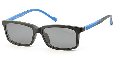 Cooline 058 blue/black 2V1 54/16/142 + clip-on